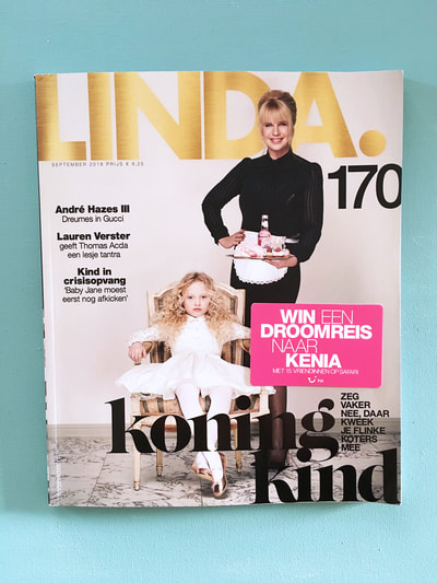 Linda magazine publication