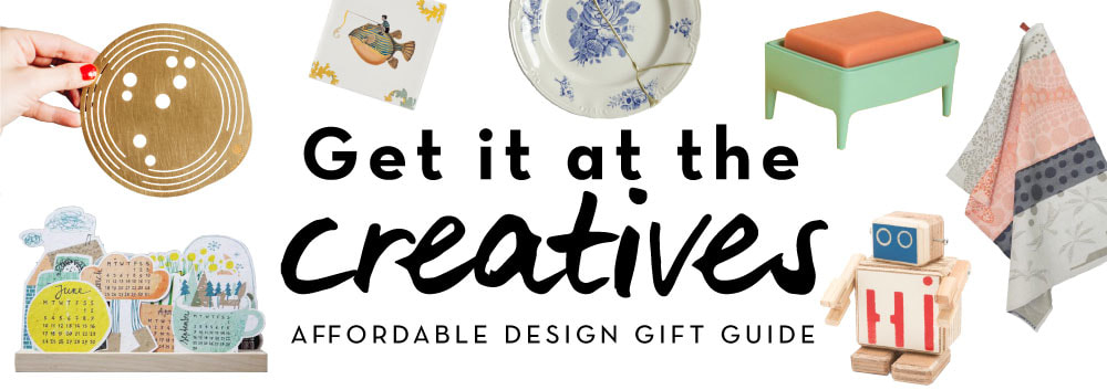 Get it at the creatives | Affordable desig gift guide by House of Thol