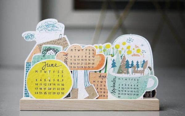 Plan and Grow Calendar by Niko Niko | House of Thol 'Get it at the Creatives' gift guide