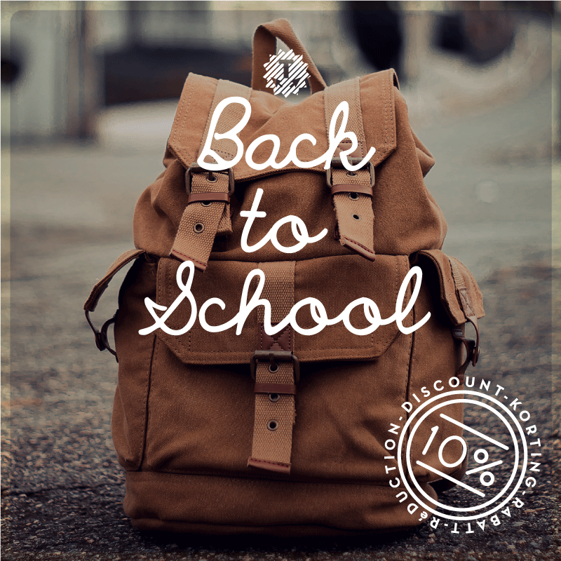 Back to School discount by House of Thol