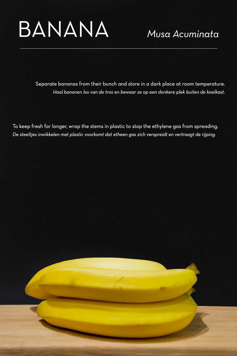 Poma/Olera research: Banana - by House of Thol