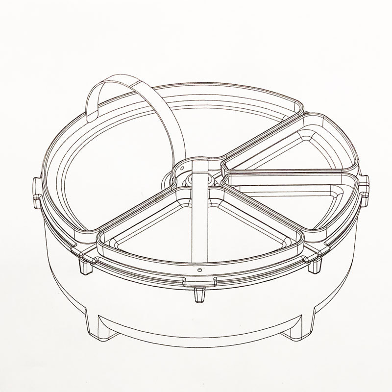 Patera Magnus technical drawings by House of Thol