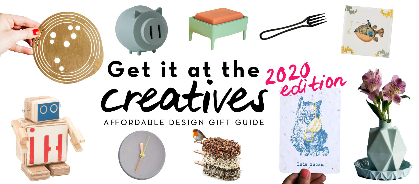 Get it at the Creatives gift guide - by House of Thol