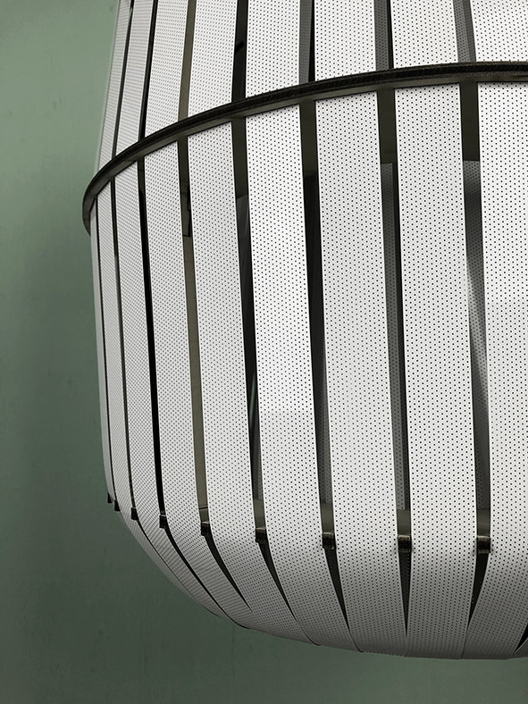 Close up Wren lamp by House of Thol for Ay Illuminate | photograph by House of Thol