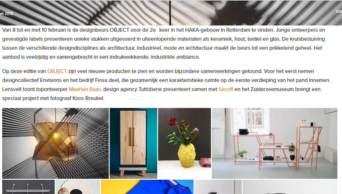 OBJECT 2019 on architectuur.nl