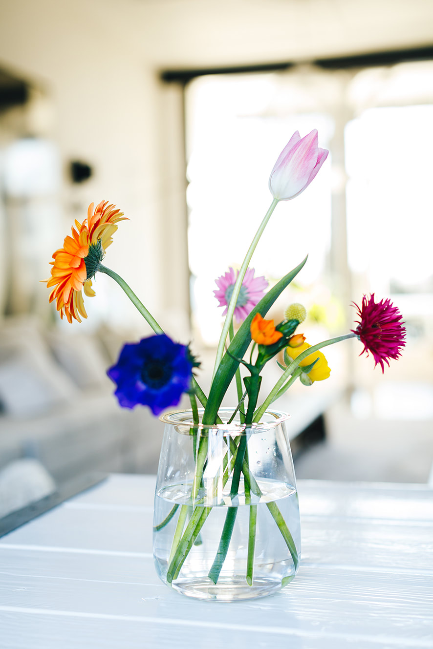 A Rookie's guide to flower care by House of Thol - 9 steps to keep your flowers fresh for longer / Flower Constellations by House of Thol - photograph by Masha Bakker Photography
