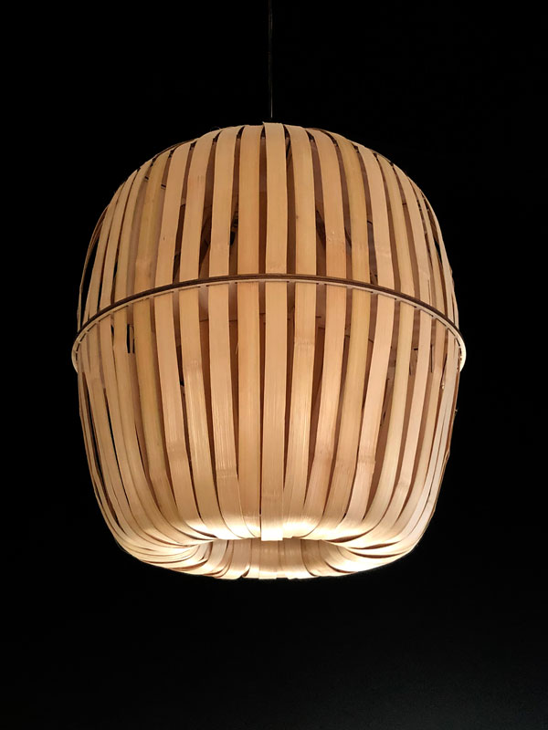 Kiwi Bamboo / Design by House of Thol for Ay Illuminate // photograph by House of Thol