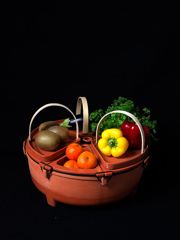 Poma/Olera series by House of Thol - store your fresh food better and avoid food waste
