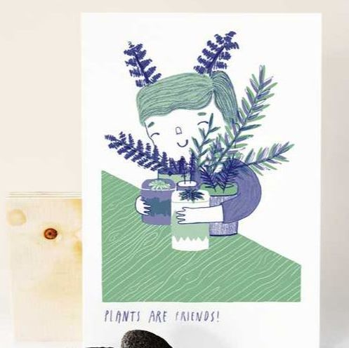 Plants are Friends by Studio Doeke | House of Thol 'Get it at the Creatives' gift guide
