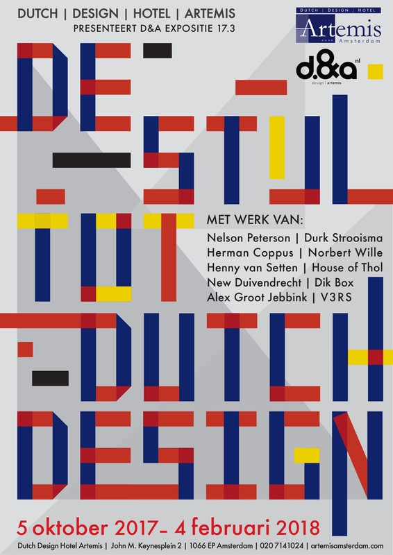 De stijl tot dutch design design hotel artemis house for 4 design hotel artemis