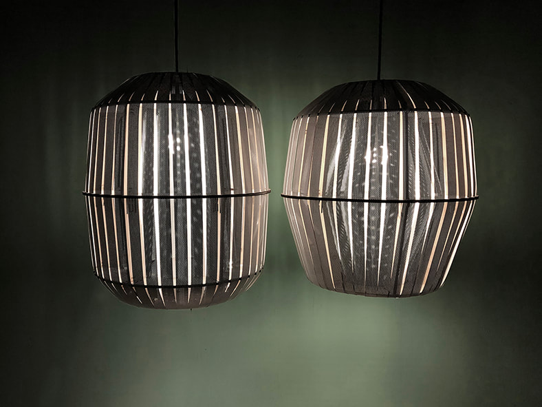 Wren + Kiwi lamp by House of Thol for Ay Illuminate | photograph by House of Thol